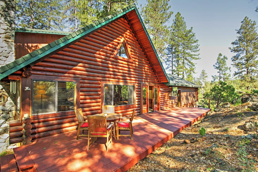 Secluded 3br grass valley cabin cabins for rent in grass for Secluded cabin rentals on lake tennessee