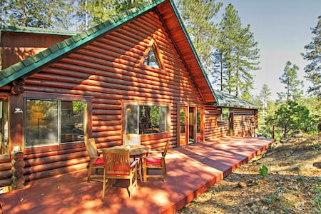 Secluded 3BR Grass Valley Cabin - Grass Valley - Kisház