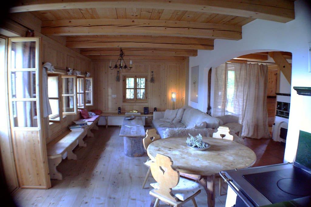 common space - main floor