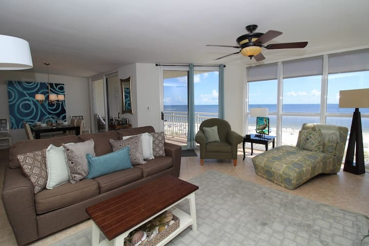SeaSpray West 503- Beach Front Views from Terrace with Luxurious Interior!