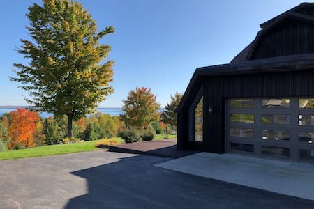 Suttons Bay, dome home, with spectacular views!