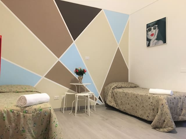 Apartment with 3 rooms in the center of Rome