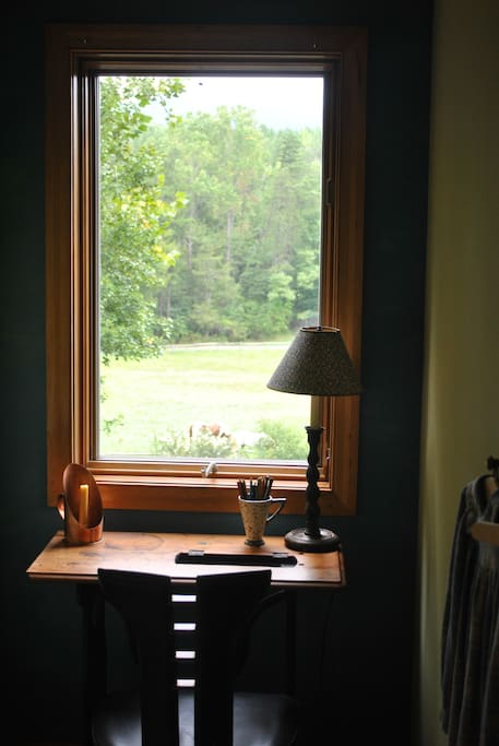Writing Nook with view