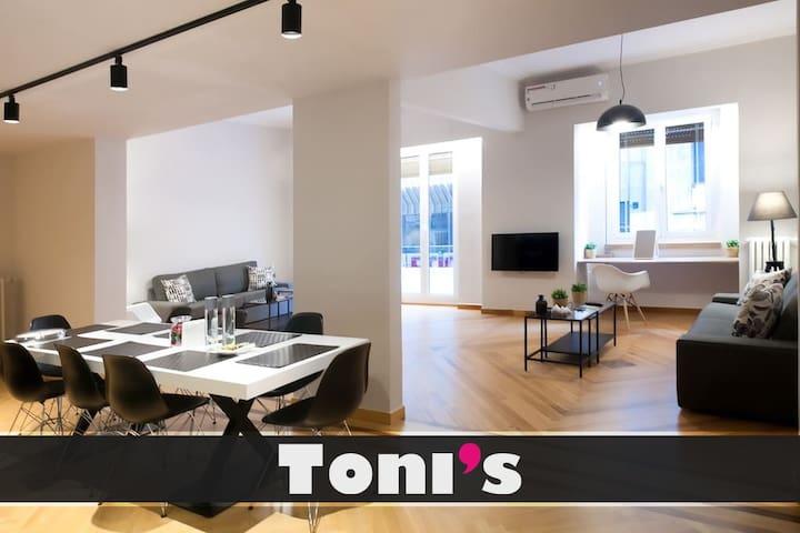 Toni's - 4BD apartment near Kolonaki in City Center
