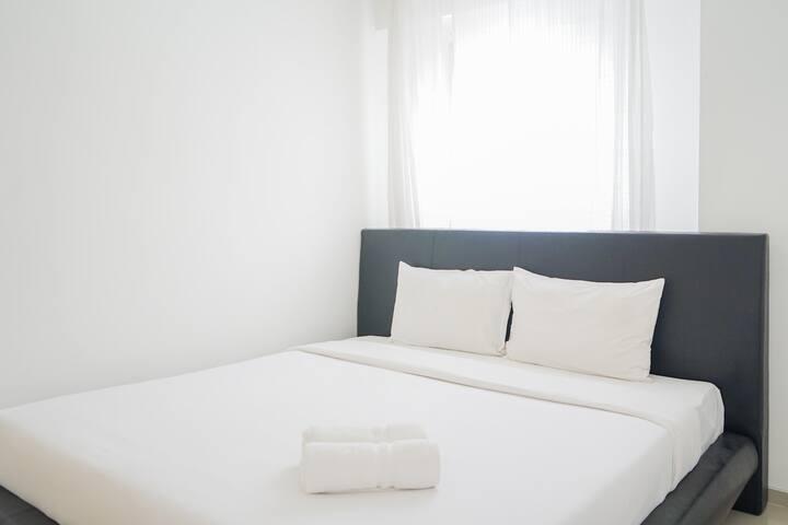 Comfy 2BR (No Kitchen) Apt at Aeropolis Residence