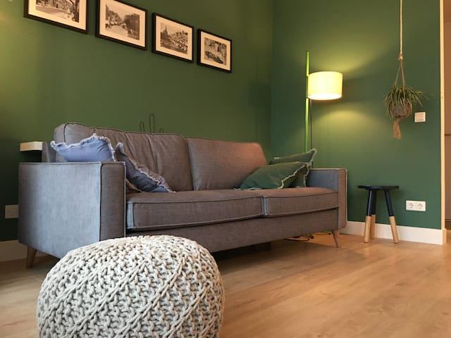 Prachtig centraal gelegen modern appartement - Groningen - Lejlighed