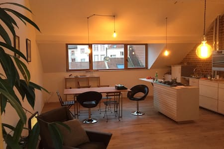 Bright apartment in the heart of St Gilles - 圣吉尔 - 公寓