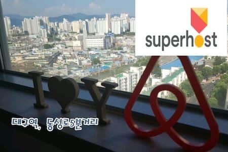 NEW)대구역,동성로★신축독립공간#1 - Jung-gu