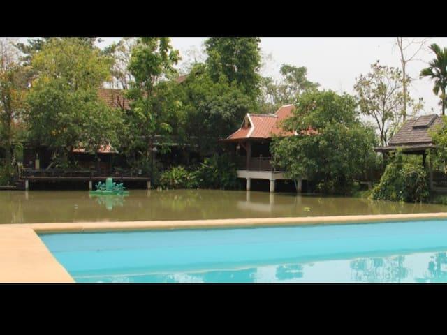 Private Villa Pool 6BDR7BATH VIEWS! - Chiang Mai, Thailand - Hus