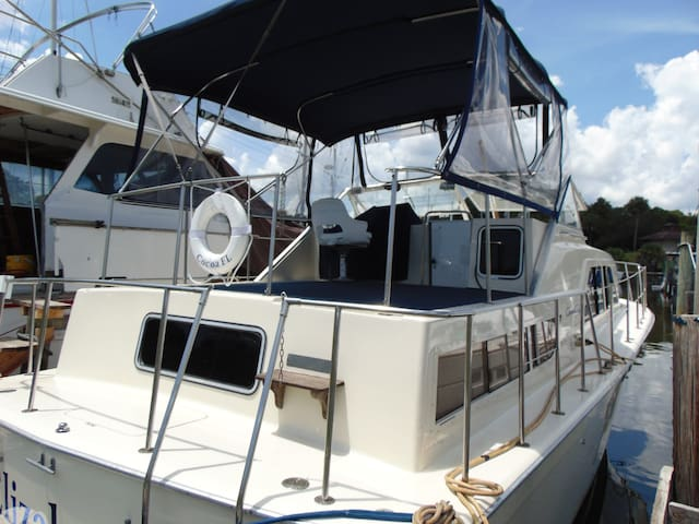 Two Stateroom Boat on the Water - Merritt Island - Barco