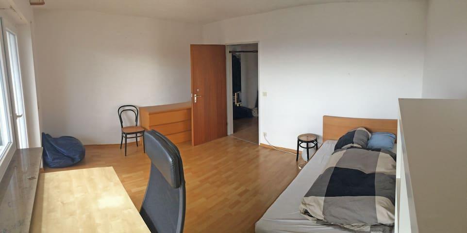 Zimmer mit Balkon und Seesicht - Friedrichshafen - House