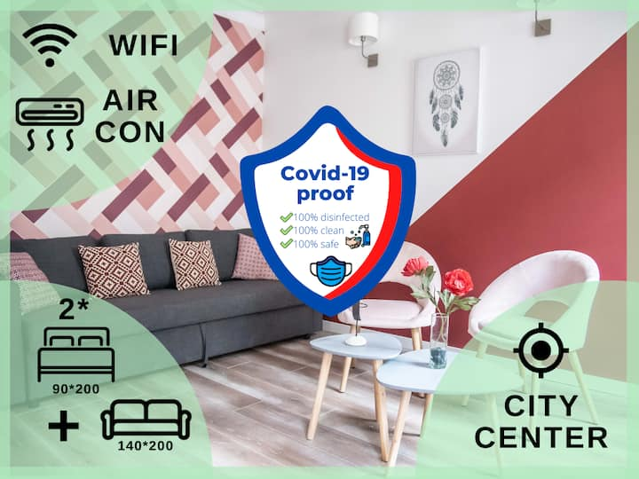 ★ CITY CENTER ★ AIRCON ★ THEATRE & SIGHTSEEING ★