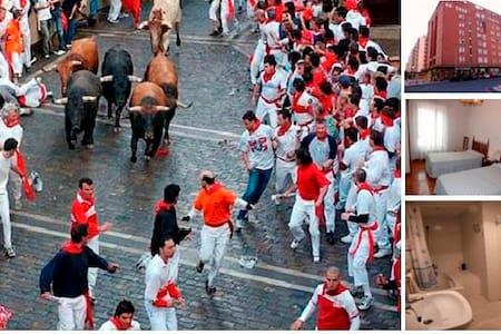 San Fermin festival in Pamplona. - Pamplona