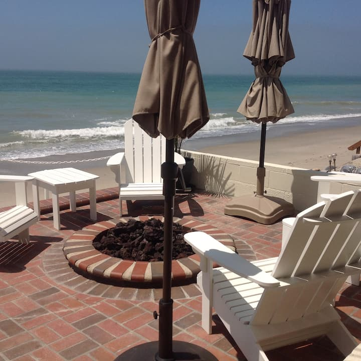 Lush Beach Home On Sand Avail 12/01/19 to 6/15/20