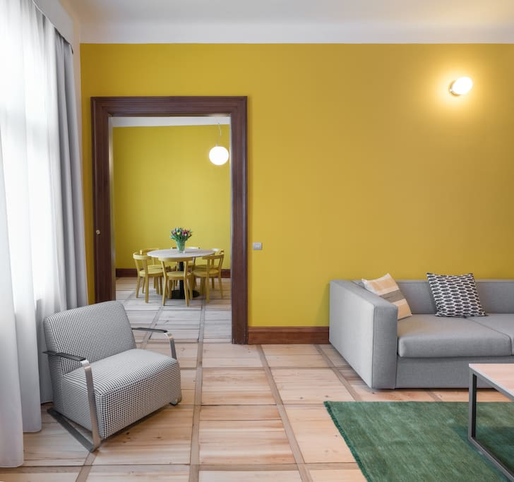 2BR Apartment with Balcony
