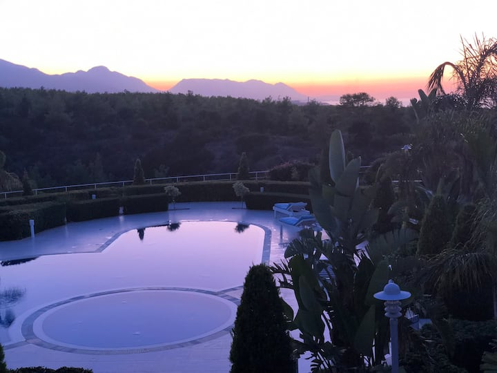Luxury Apartment at Pine Valley, North Cyprus