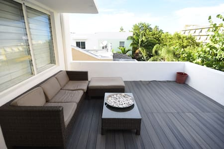 Cozy TERRACE in SOUTH BEACH! - Miami Beach