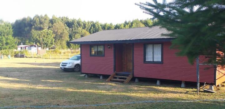 Cabaña para 6 personas muy cerca de Valdivia!