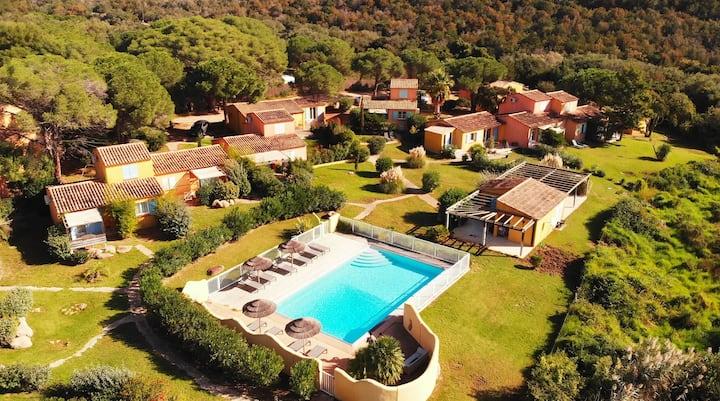 Villa*** 4p piscine - Porto Vecchio - Palombaggia