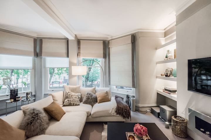 Elegant, Contemporary Flat in Parsons Green