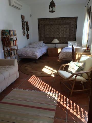 Apartment bedroom, with bathroom en-suite