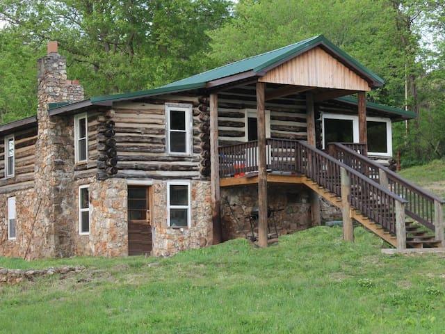 For Old Times Sake Log Cabin on the Meramec