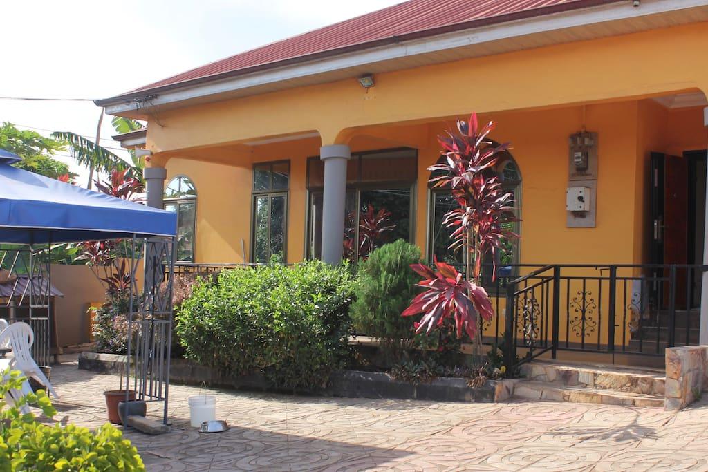 house & porch