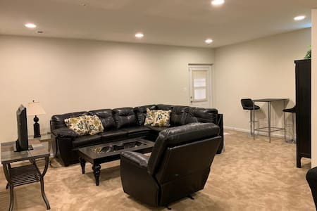 Relaxing Basement Suite near Andrews AFB and MGM
