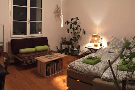 Chambre calme, relax, avec jardin, 15min du centre - 日内瓦 - 独立屋