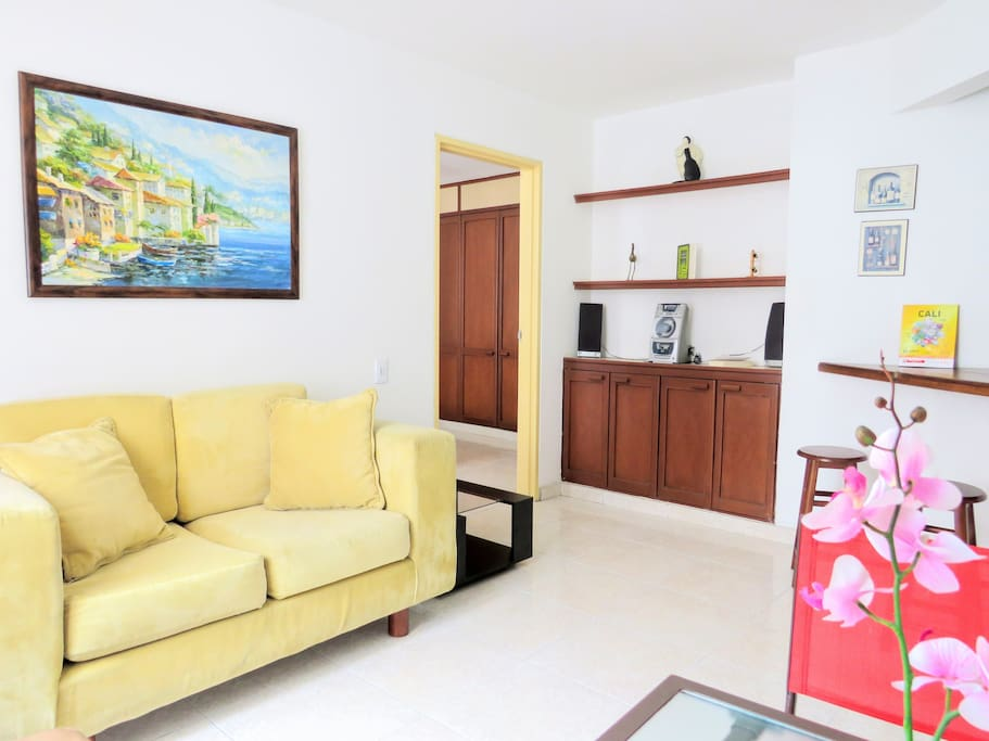 This apartment is like home. You are going to find everything for you, welcome!