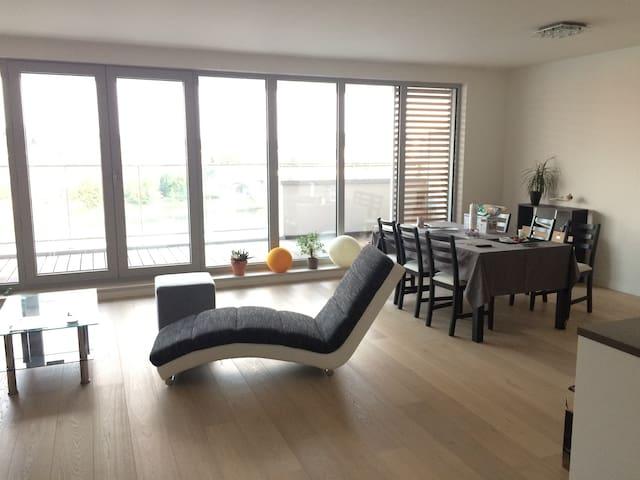 Appartement moderne en bord de Meuse