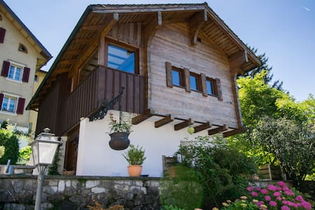 Lovely cottage on Lake Lucerne - with lakeview