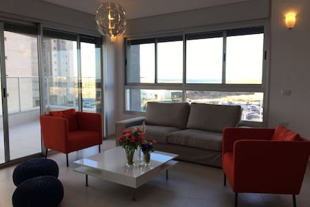 Comfortable Apartment with Sea view - Хадера - Квартира