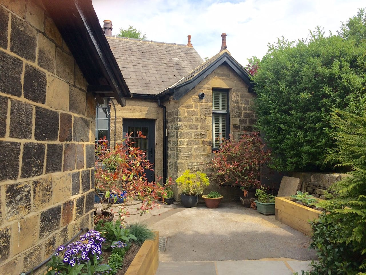 The Bothy is a south facing self contained cottage