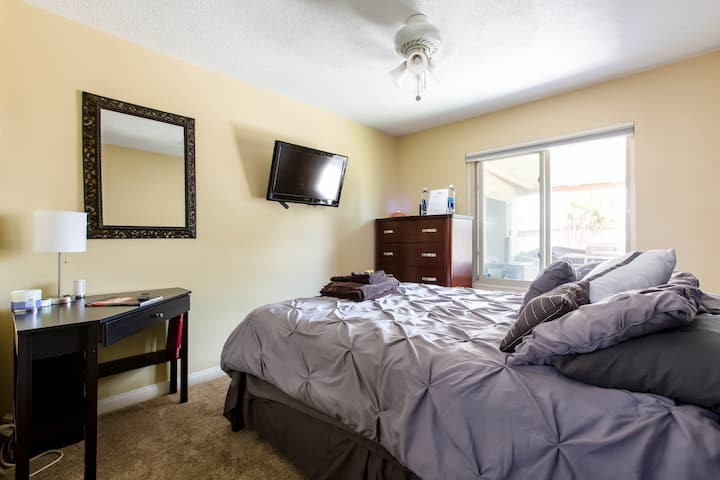The Clairmont Place.  Relax and feel at home.