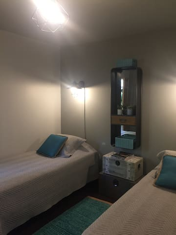 Bella habitación privada ,baño suite,ful ubicada