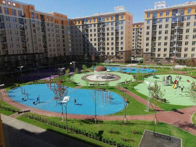 Bright apartments near the airport Vnukovo/FIFA'18