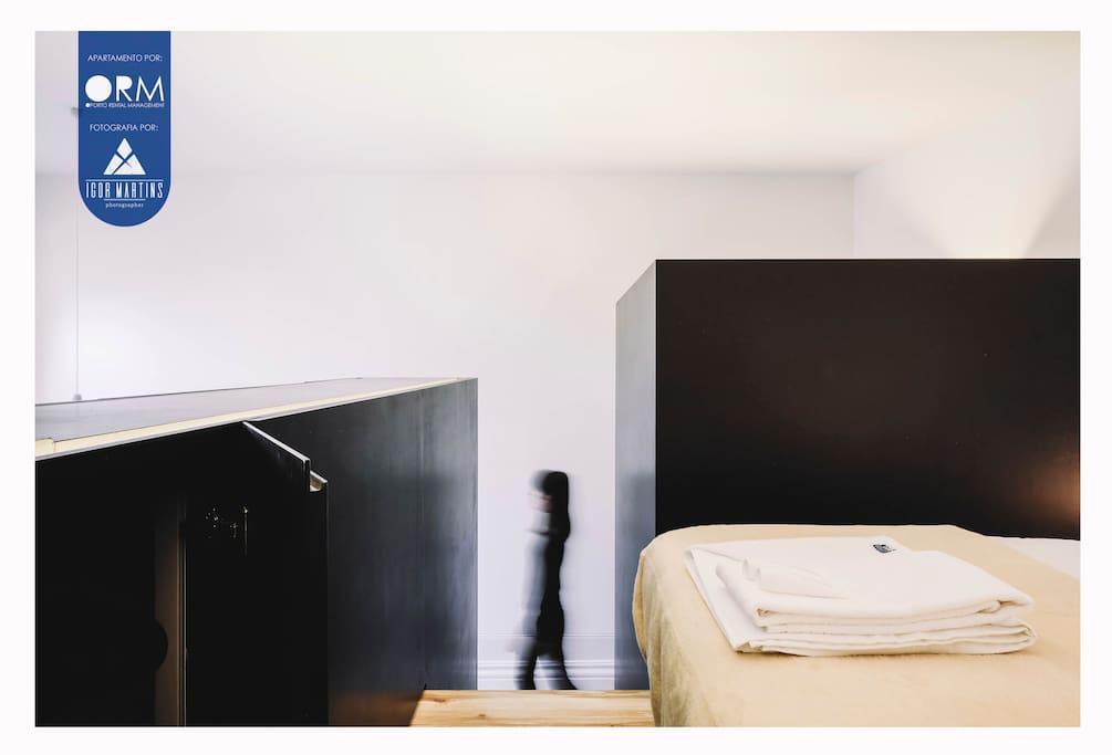 Bedroom + Closet (Mezzanine)