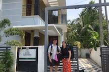 Katy & William from UK enjoyed their stay for three nights at Bethel Gardens.