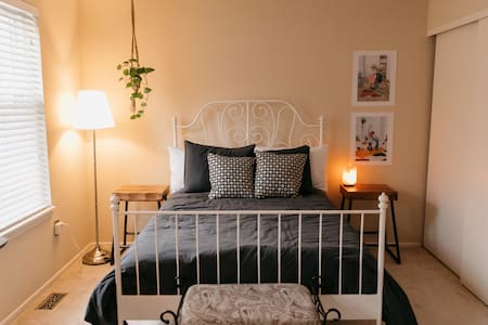 Master Bedroom in Secluded Columbia Townhome