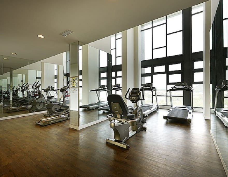 Free access to Gym room
