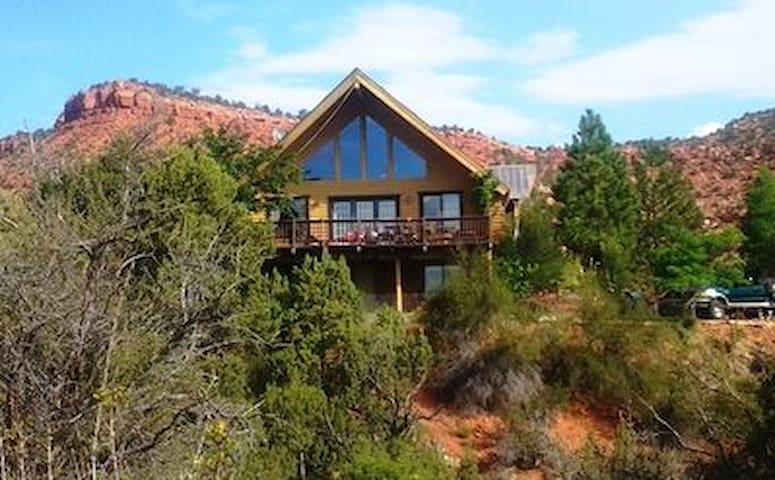 Cliff Rose Log Home