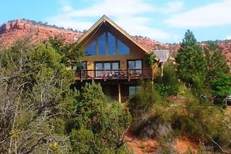 Cliff Rose Log Home