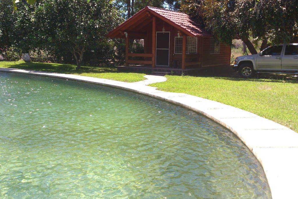 Lake like pool