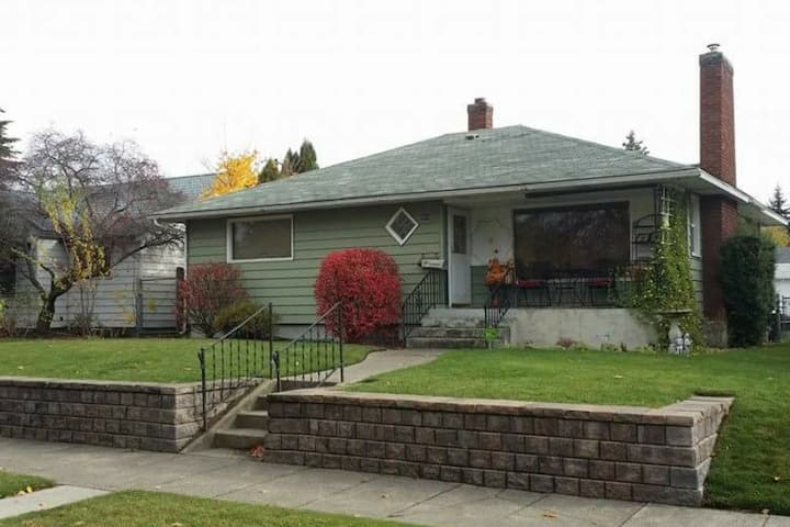 Immaculate cottage in the heart of Spokane