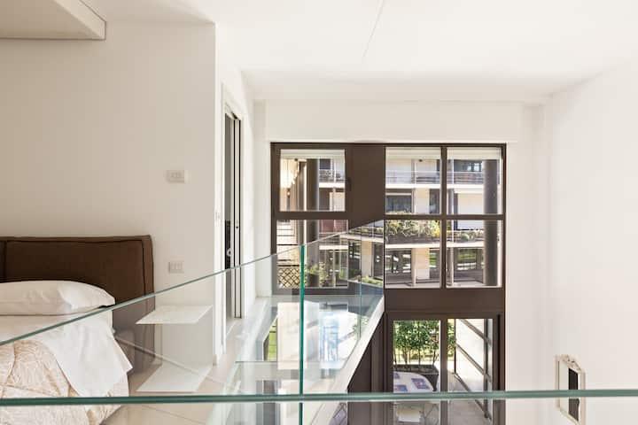 NEW! Exclusive Loft with balcony & garden!