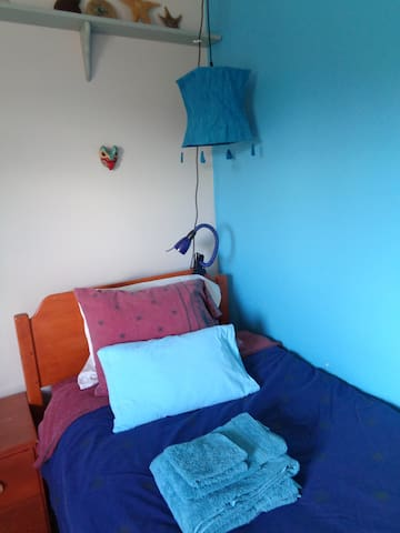 Caribean Blue Room-For the solo traveller - Whitehorse - Bed & Breakfast
