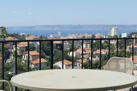 Vue mer panoramique Roucas-Blanc - Marseille