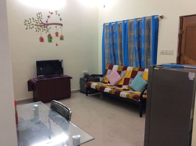 Spacious 1BHK with Kitchen @K R Puram,Bangalore