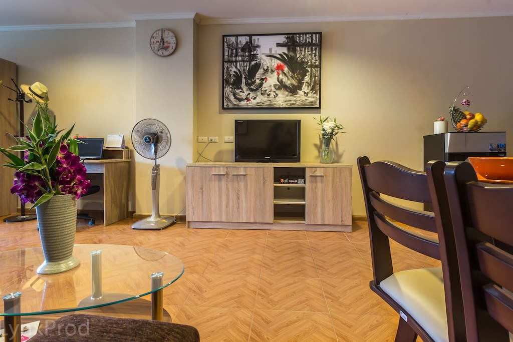 Studio de r ve au coeur de hua hin appartements en for Appartement de reve
